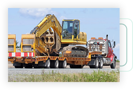 Heavy Equipment Moving Services